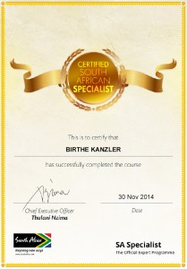 South_Africa_certificate_Kanzler